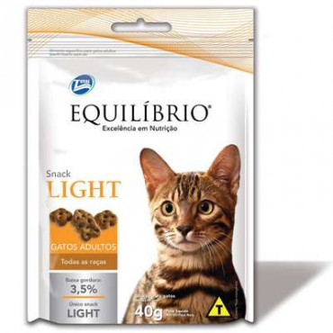 Biscoito Equilíbrio Cat Snack Light 40g