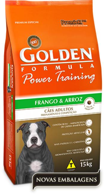 Ração Golden Adulto Power Training