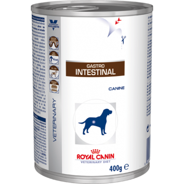 Patê Royal Canin Dog Lata Gastro Intestinal Wet 410g