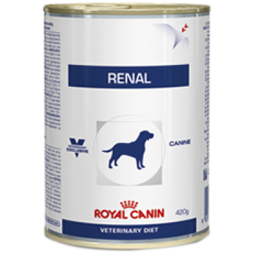 Patê Royal Canin Dog Lata Renal 410g
