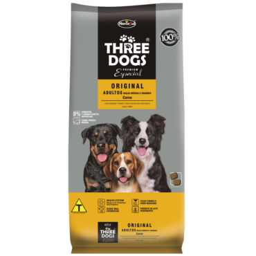 Ração Three Dogs Premium Especial Original