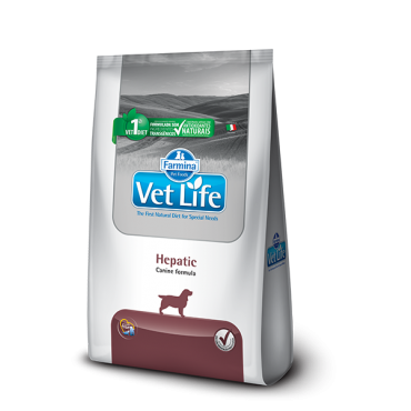 Ração Vet Life Natural Canine Hepatic