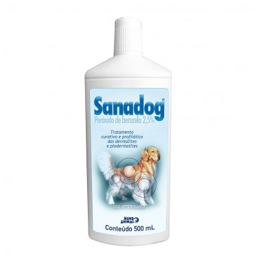 Shampoo Mundo Animal Sanadog Para Cães - 500ml