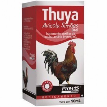 Thuya 20ml - Simões - 90ml